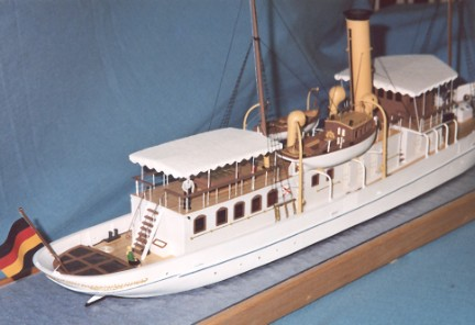 Ken Schuetz ship model - Schaarhorn 1908