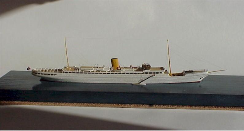 Ship Models Made By Bob Fivehouse Mv Maurice Ewing Stella