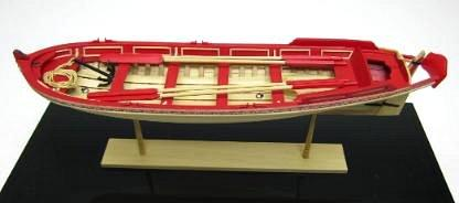 Chuck Passaro Pinnace model
