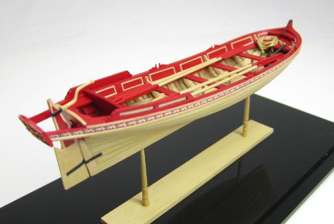 Chuck Passaro ship model admirals barge